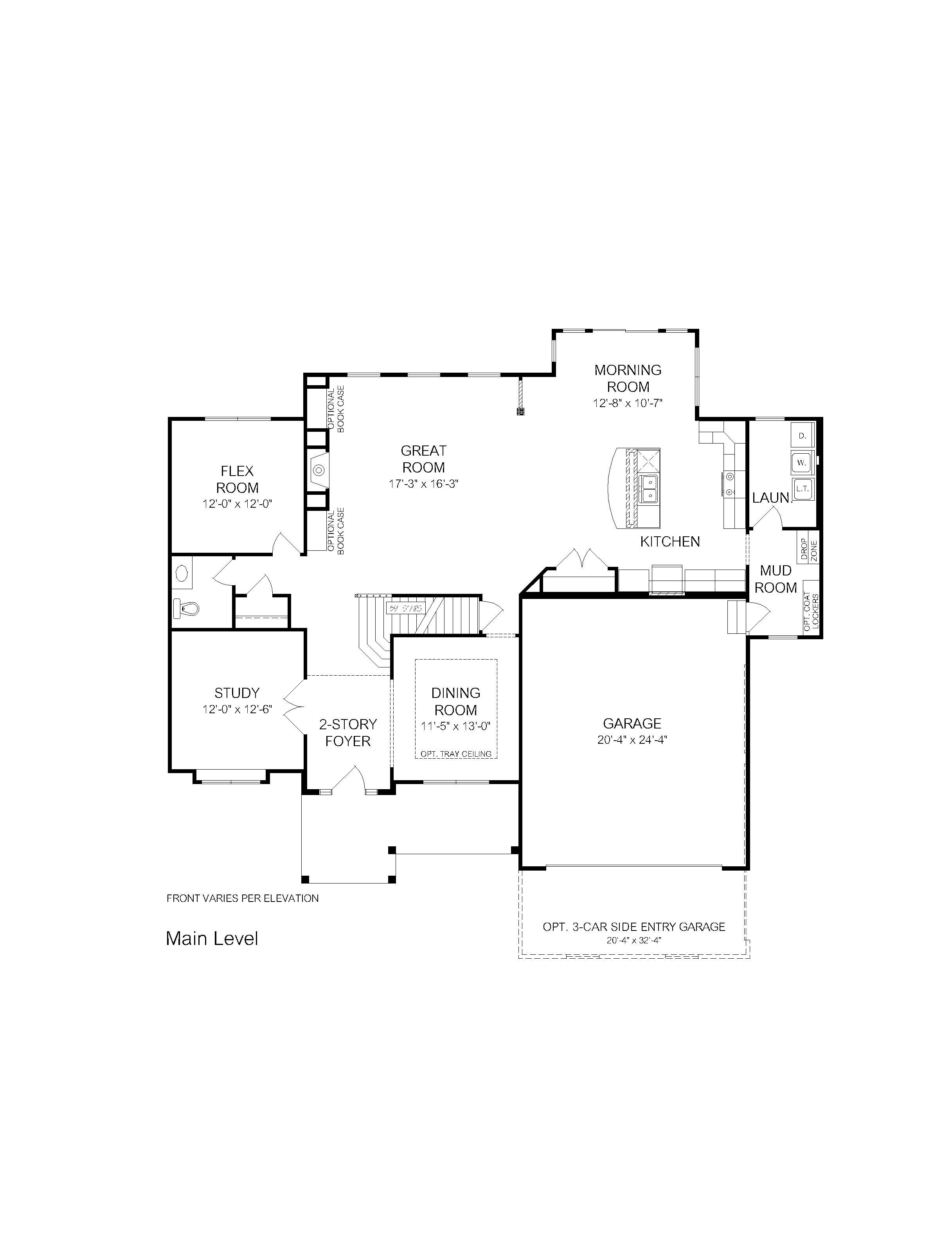 Kensington-Web Plans-Second Floor