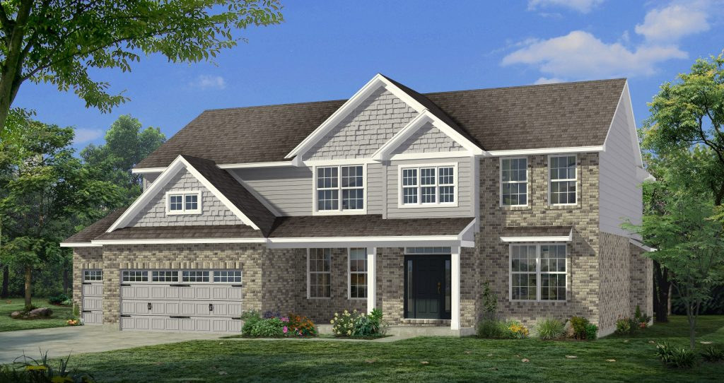 New homes in Liberty Township